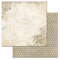Carolee's Creations - Adornit - Wisteria Collection - 12 x 12 Double Sided Paper - Wisteria B
