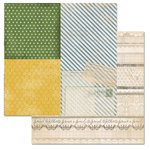 Carolee's Creations - Adornit - Wisteria Collection - 12 x 12 Double Sided Paper - Wisteria Lace