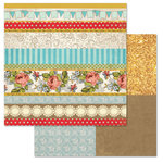 Carolee's Creations - Adornit - Storybook Collection - 12 x 12 Double Sided Paper - Chapter Four