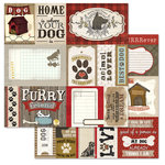 Carolee's Creations - Adornit - Hound Dog Collection - 12 x 12 Double Sided Paper - Cut Apart