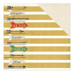 Carolee's Creations - Adornit - Family Path Collection - 12 x 12 Double Sided Paper - Together is Home