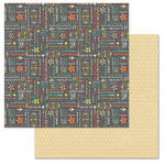 Carolee's Creations - Adornit - Kaleidoscope Collection - 12 x 12 Double Sided Paper - Sunshine Word