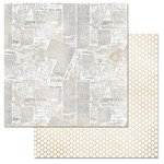 Carolee's Creations - Adornit - Farmhouse Collection - 12 x 12 Double Sided Paper - Scribble