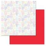 Carolee's Creations - Adornit - Celebrate Collection - 12 x 12 Double Sided Paper -It's A Date