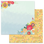 Carolee's Creations - AdornIt - Flamingo Fever Paper Collection - 12 x 12 Double Sided Paper - Floral Crush