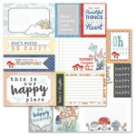 Carolee's Creations - AdornIt - Gnome Life Paper Collection - 12 x 12 Double Sided Paper - Happy Kite Cut Apart