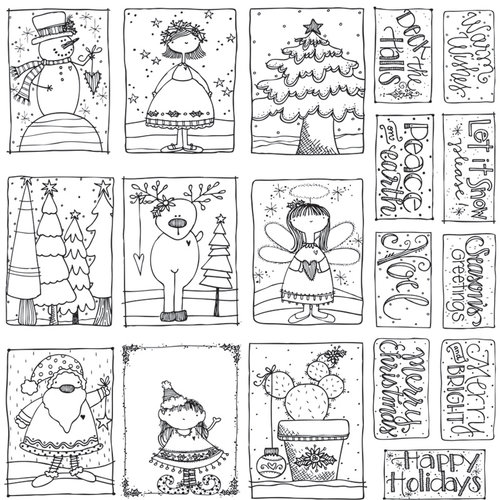 Adornit Art Play Paintables Seasons Greetings