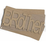 Carolee's Creations Adornit - Chipboard Album - Brother - with Plaid Textured Acrylic Skin, CLEARANCE