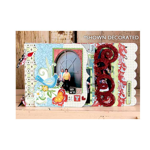 Carolee's Creations - Adronit - Wood Storybook - Vintage Grove