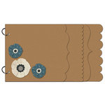 Carolee's Creations - Adornit - Daisy Dew Collection - Wood Storybook - Daisy Dew