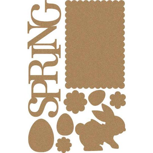 Carolee's Creations - Adornit - Easter Collection - Wood Shapes - Spring