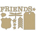 Carolee's Creations - Adornit - Timberland Critters Collection - Wood Shapes