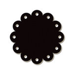 Carolee's Creations - Adornit - Chalkboard Surfaces - Scallop Circle