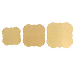 Carolee's Creations - Adornit - Bare Wood Surface - Pointed Bracket Pack