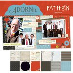Carolee's Creations - Adornit - Father Collection - 12 x 12 Paper Pack