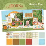 Carolee's Creations - Adornit - Garden Fun Collection - 12 x 12 Paper Pack