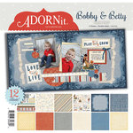 Carolee's Creations - Adornit - Bobby and Betty Collection - 12 x 12 Paper Pack