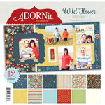 Carolee's Creations - Adornit - Wild Flower Collection - 12 x 12 Paper Pack