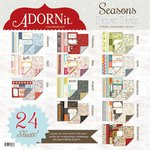 Carolee's Creations - Adornit - Seasons Collection - 12 x 12 Paper Pack