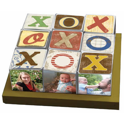 Carolee's Creations - Conversation Tray and Nine Cubes - Kraft