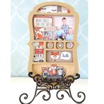 Carolee's Creations - Adornit - Timberland Critters Collection - Foxy Shadowbox Craft Kit