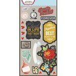 Carolee's Creations - Adornit - Forever Family Collection - Die Cut Cardstock Shapes - Family Vignette