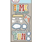 Carolee's Creations - Adornit - Time Flies Collection - Die Cut Cardstock Shapes - Time Flies