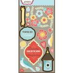 Carolee's Creations - Adornit - Home Tweet Home Collection - Die Cut Cardstock Shapes - Tweetie