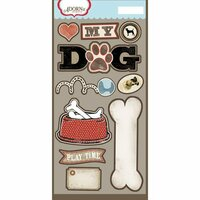 Carolee's Creations - Adornit - Hound Dog Collection - Die Cut Cardstock Shapes - My Dog