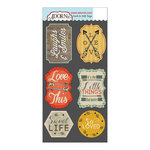 Carolee's Creations - Adornit - Family Path Collection - Die Cut Cardstock Shapes - Laughs and Smiles