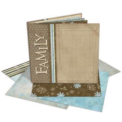 Carolee's Creations - Adornit - 12x12 Album Kit - Families Forever