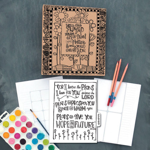 Carolee's Creations - Adornit - Art Play Planner - Documented Faith