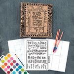 Carolee's Creations - Adornit - Art Play Planner - Documented Faith