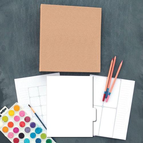 Carolee's Creations - Adornit - Art Play Planner - Blank DIY