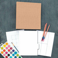 Carolee's Creations - Adornit - Art Play Planner - Blank DIY