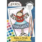 Carolee's Creations - AdornIt - Art Play Coloring Book - Mini - Make a Wish