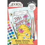 Carolee's Creations - AdornIt - Art Play Coloring Book - Mini - Home Grown