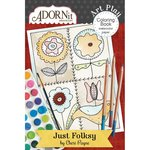 Carolee's Creations - AdornIt - Art Play Coloring Book - Mini - Just Folksy