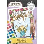 Carolee's Creations - AdornIt - Art Play Coloring Book - Mini - So Cute