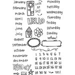 Carolee's Creations - Adornit - Documented Faith Collection - Clear Acrylic Stamps - Dated