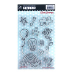 Carolee's Creations - AdornIt - Documented Faith Collection - Clear Acrylic Stamps - Faith Doodle