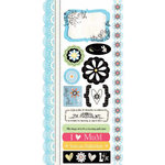 Carolee's Creations - Adornit - Nancy Jane Collection - Cardstock Stickers - I Love Mum, CLEARANCE