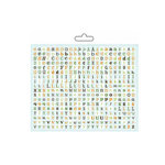 Carolee's Creations - Adornit - Fern Collection - Alphabet Cardstock Stickers - Random, CLEARANCE