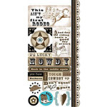 Carolee's Creations - Adornit - Old West Collection - Cardstock Stickers - Wild West