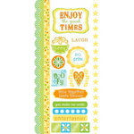 Carolee's Creations - Adornit - Boy Birthday Collection - Cardstock Stickers - The Good Times, CLEARANCE
