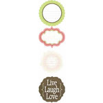 Carolee's Creations - Adornit - Lapreal Collection - Cardstock Stickers - Simply Live