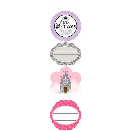 Carolee's Creations - Adornit - Princess Collection - Cardstock Stickers - Little Princess