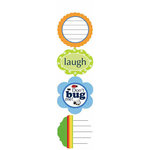 Carolee's Creations - Adornit - Bug A Boo Collection - Cardstock Stickers - Bug Bunch