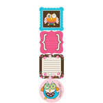 Carolee's Creations - Adornit - Pink Hoot Collection - Cardstock Stickers - Hoot Pink