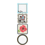 Carolee's Creations - Adornit - Misty Collection - Cardstock Stickers - Misty Flowers